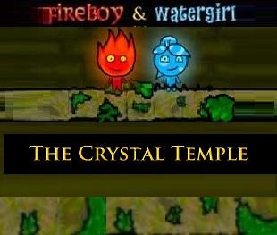 בן האש ובת המים מקדש הקריסטל